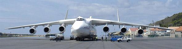 An-225 - Foto: U.S. Air Force - Public Domain