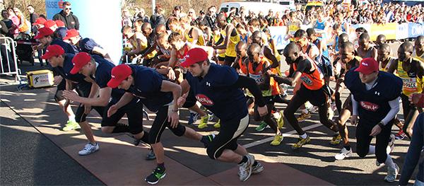 Vienna City Marathon Start