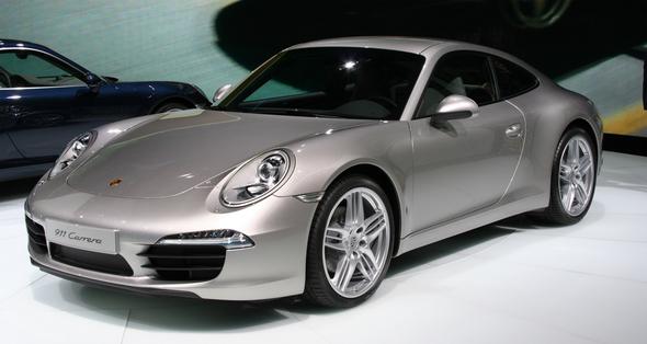 Porsche 911 Carrera 2011 (Public Domain) / Zum Vergrößern auf das Bild klicken