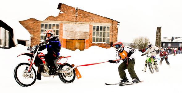 Skijöring - Foto: Tom Triebel - CC BY-SA 2.0