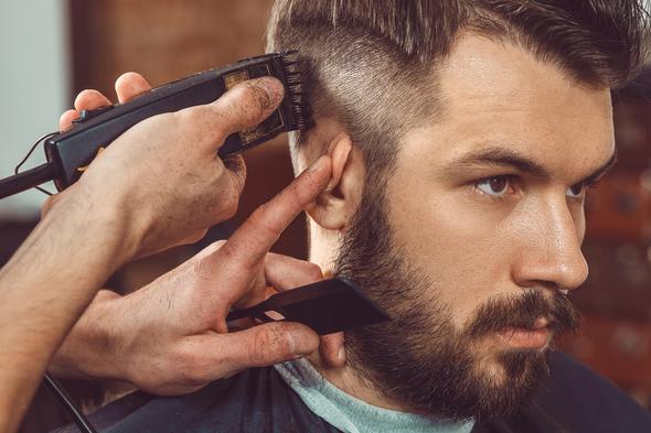 Manner frisuren zum bart