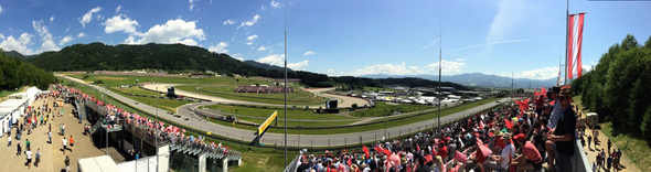 Red Bull Ring 2014 - Foto: Ungry Young Man - CC BY 2.0