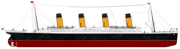 Titanic - Urheber: Boris Lux - GFDL / Zum Vergrößern auf das Bild klicken