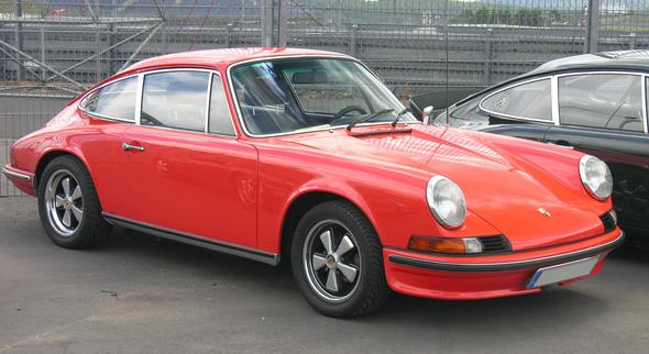 Porsche 911 S (Urmodell) - Public Domain / Zum Vergrößern auf das Bild klicken