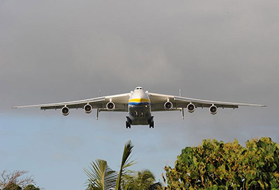 AN-225 - Foto: FEMA Photo Library (Casey Deshong) - PD