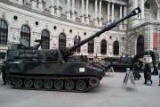Artillerie in Wien / Zum Vergrößern auf das Bild klicken
