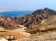 Bucht von Eilat - Foto: Datafox - GFDL / Zum Vergrößern auf das Bild klicken