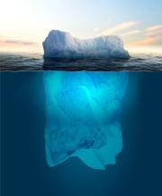 Eisberg - © Sergej Khackimullin - Fotolia / Zum Vergrößern auf das Bild klicken