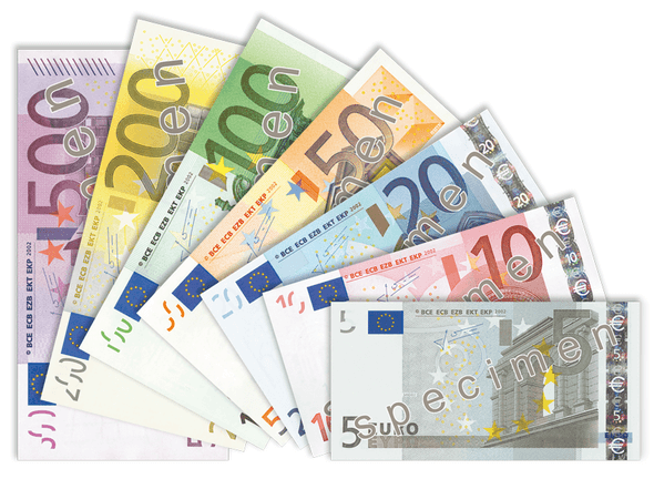 Banknoten - European Central Bank - CC BY-SA 3.0