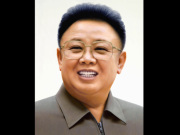 Kim Jong-il - Quelle: Korean Central News Agency - Public Domain / Zum Vergrößern auf das Bild klicken