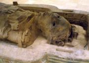 Ägyptische Mumie - Foto: Keith Schengili-Roberts - GFDL / Zum Vergrößern auf das Bild klicken